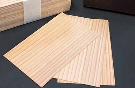 木製素材名刺の特徴