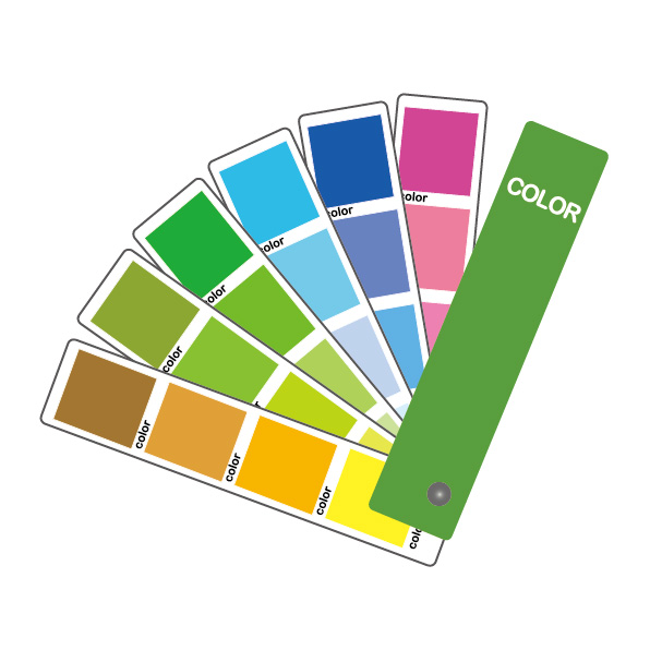 色づかいは3色まで