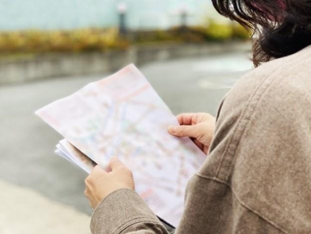 名刺裏面を利用した地図掲載のポイント