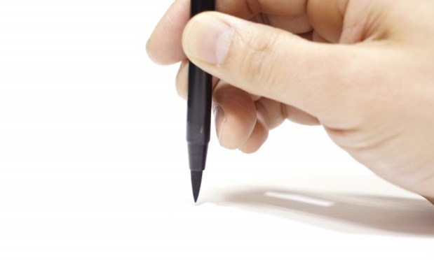 手書き文字の名刺はインパクト抜群