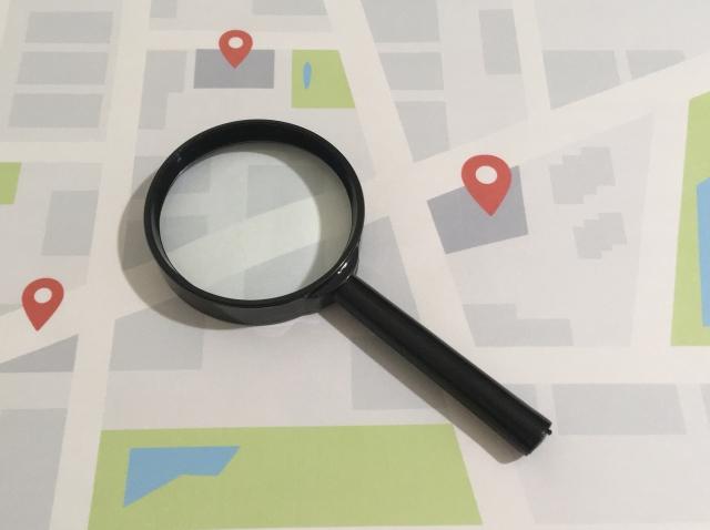 店舗型ビジネス必見!名刺に見やすい地図を入れる方法|作成&表現方法